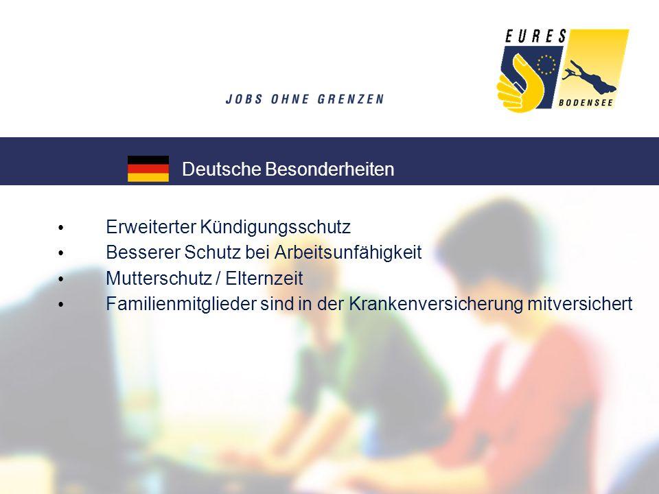Deutsche Besonderheiten