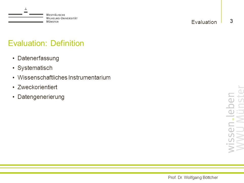 Evaluation: Definition