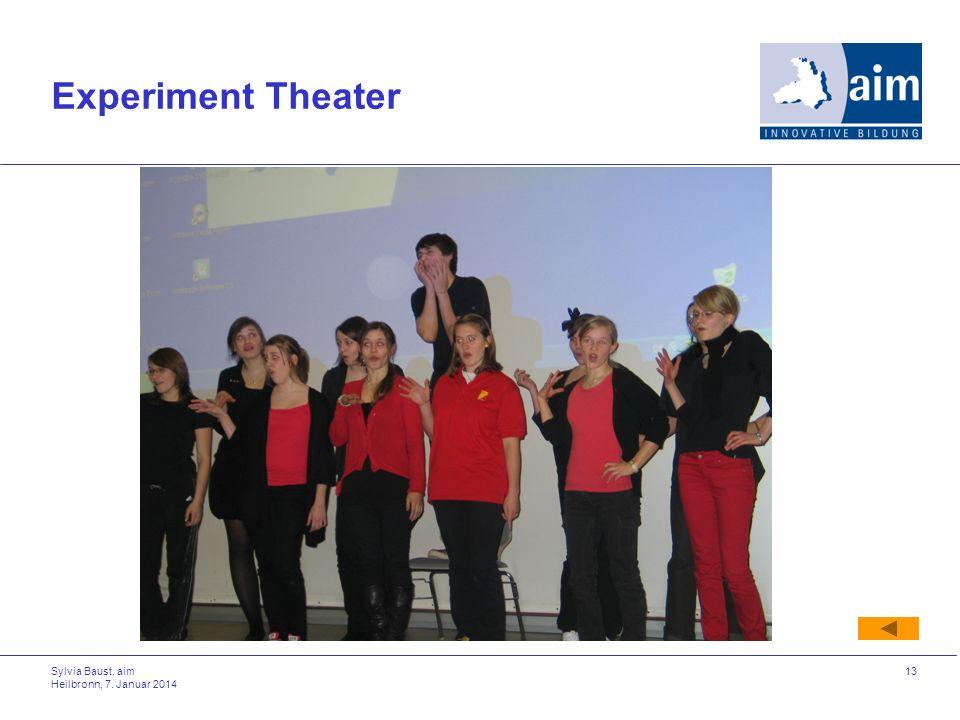 Experiment Theater Sylvia Baust, aim Heilbronn, 27. März 2017