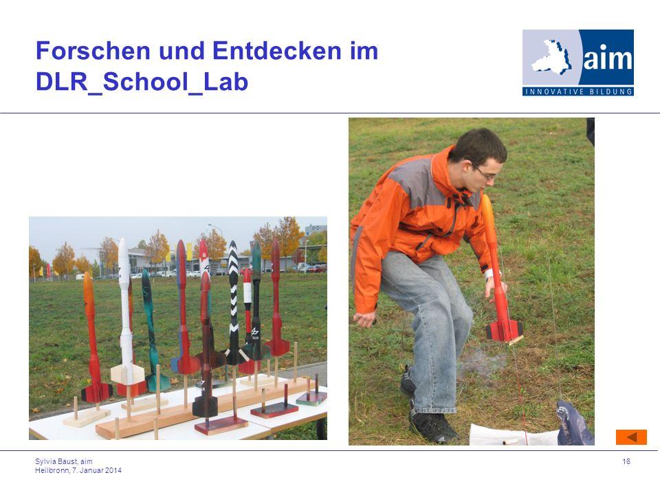 Forschen und Entdecken im DLR_School_Lab