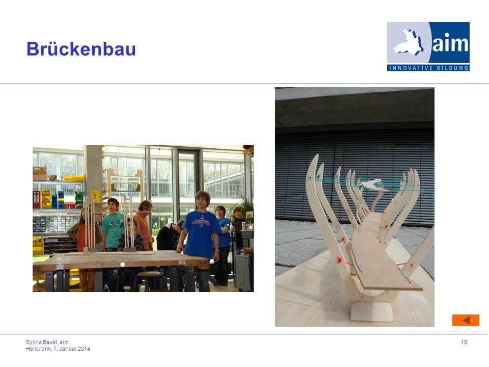 Brückenbau Sylvia Baust, aim Heilbronn, 27. März 2017