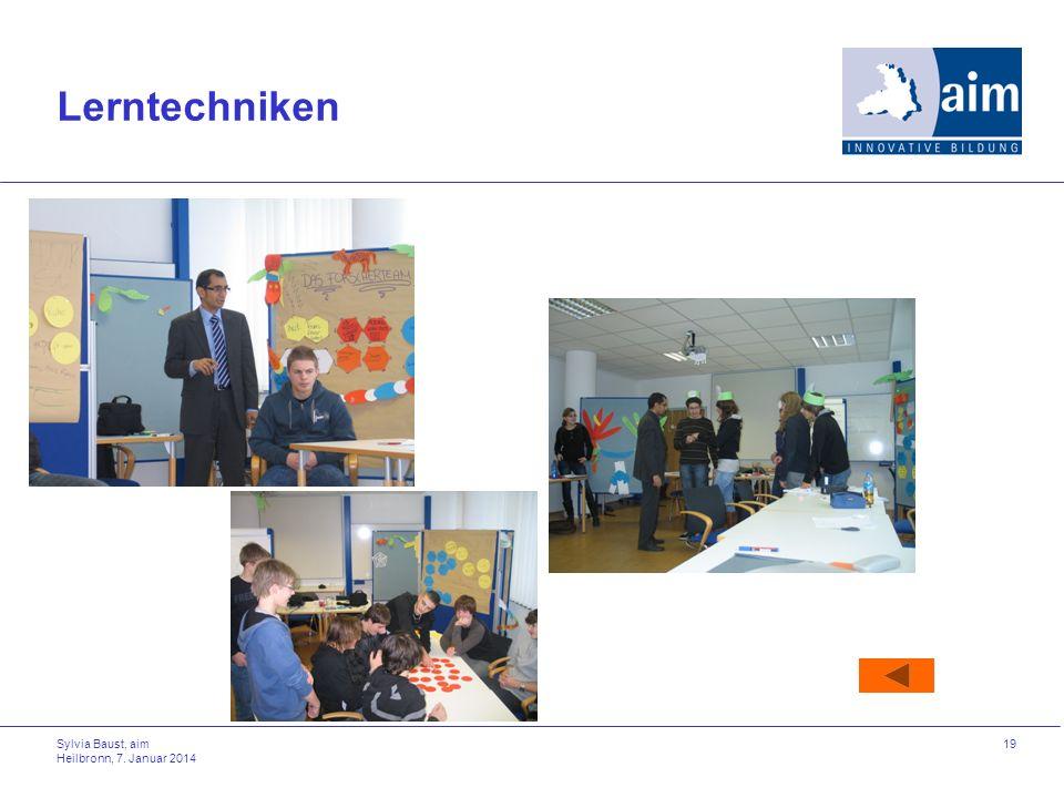 Lerntechniken Sylvia Baust, aim Heilbronn, 27. März 2017