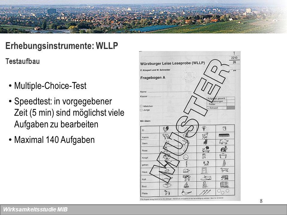 Erhebungsinstrumente: WLLP