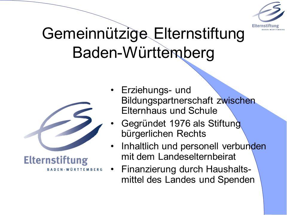 Gemeinnützige Elternstiftung Baden-Württemberg