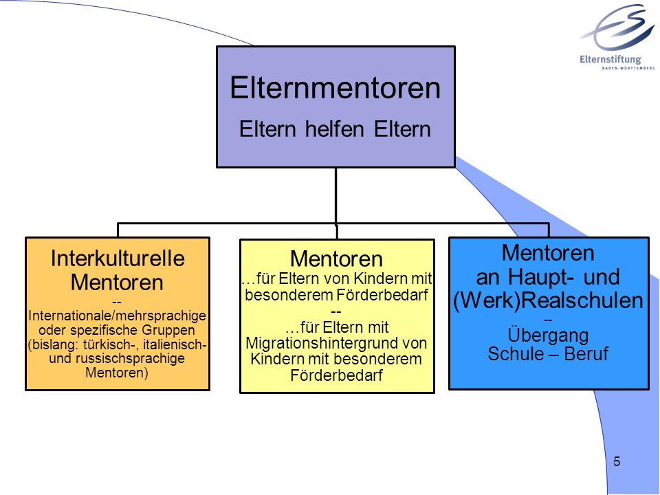 Mentoren an Haupt- und (Werk)Realschulen -- Übergang Schule – Beruf
