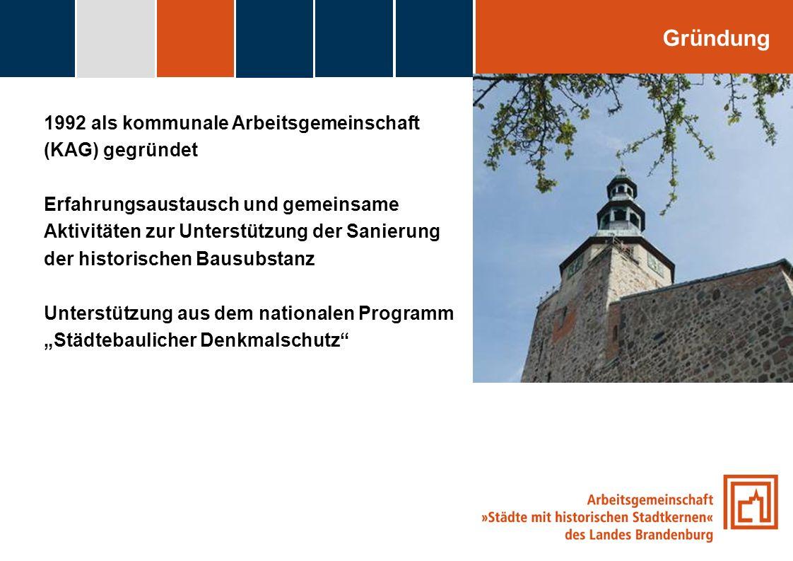 Gründung 1992 als kommunale Arbeitsgemeinschaft (KAG) gegründet