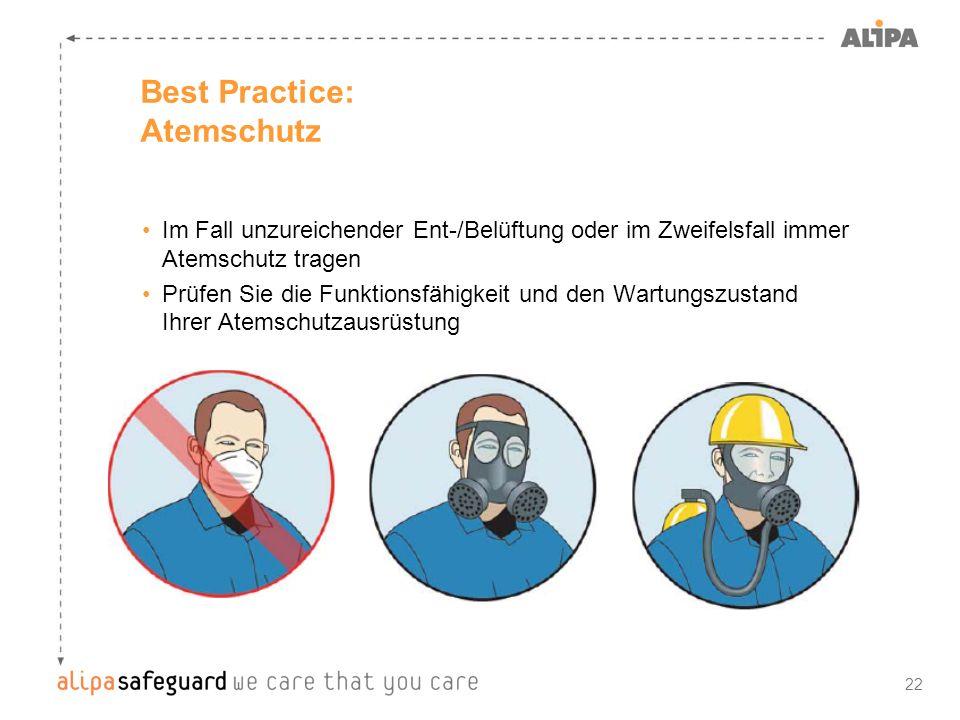 Best Practice: Atemschutz