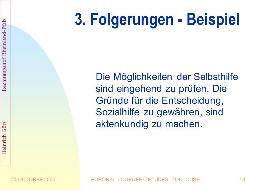 3. Folgerungen - Beispiel