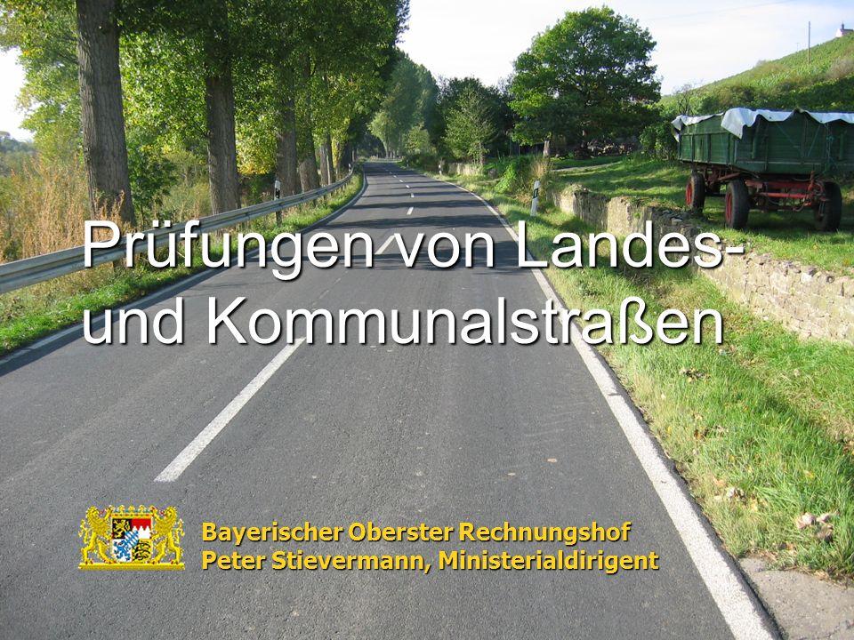 Prüfungen von Landes- und Kommunalstraßen