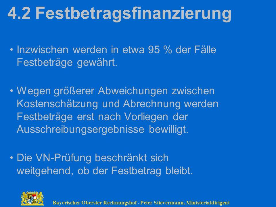 4.2 Festbetragsfinanzierung