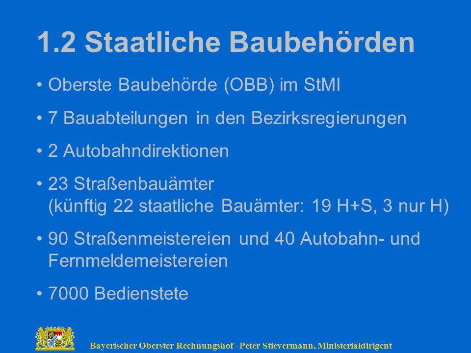 1.2 Staatliche Baubehörden