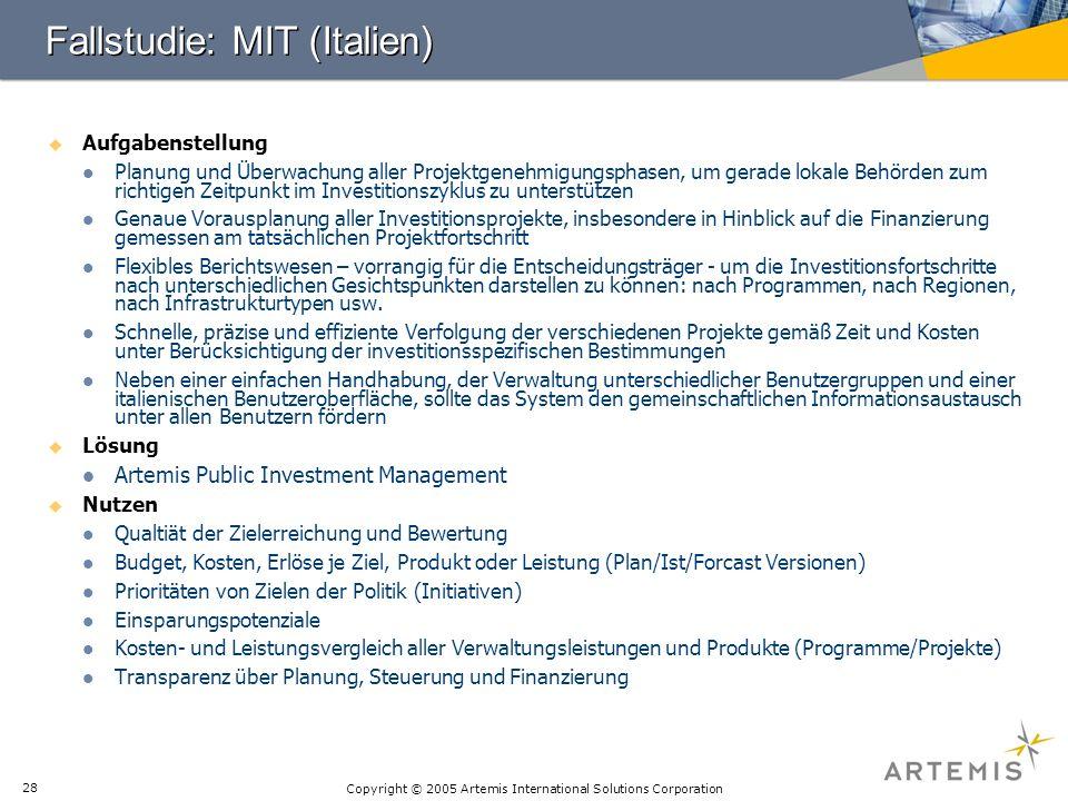 Fallstudie: MIT (Italien)