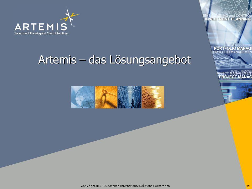Artemis – das Lösungsangebot