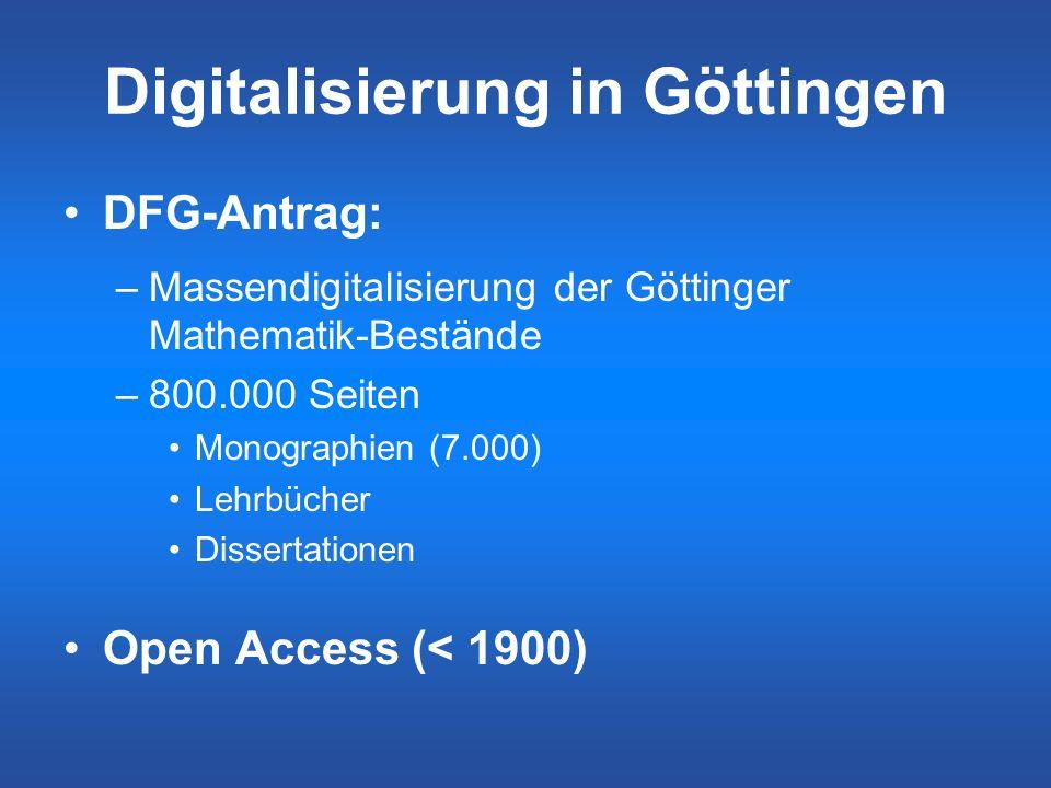 Digitalisierung in Göttingen