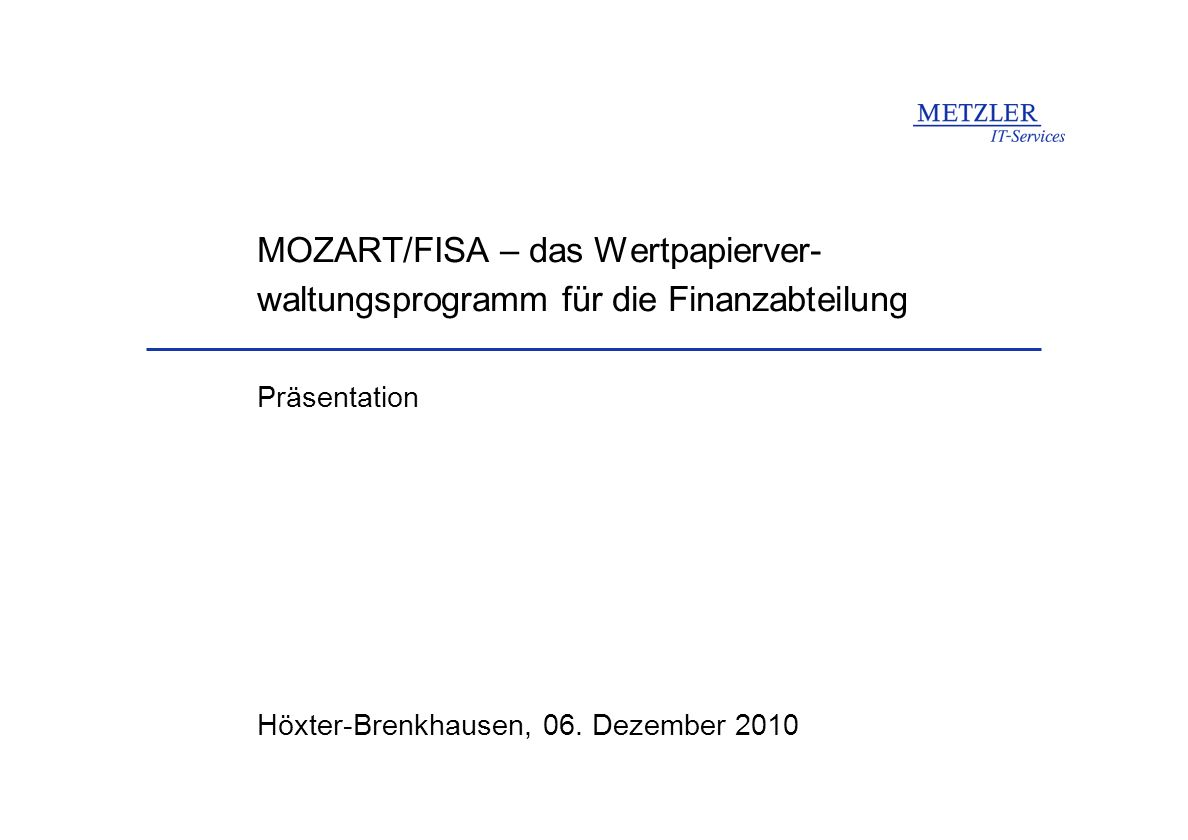 Höxter-Brenkhausen, 06. Dezember 2010