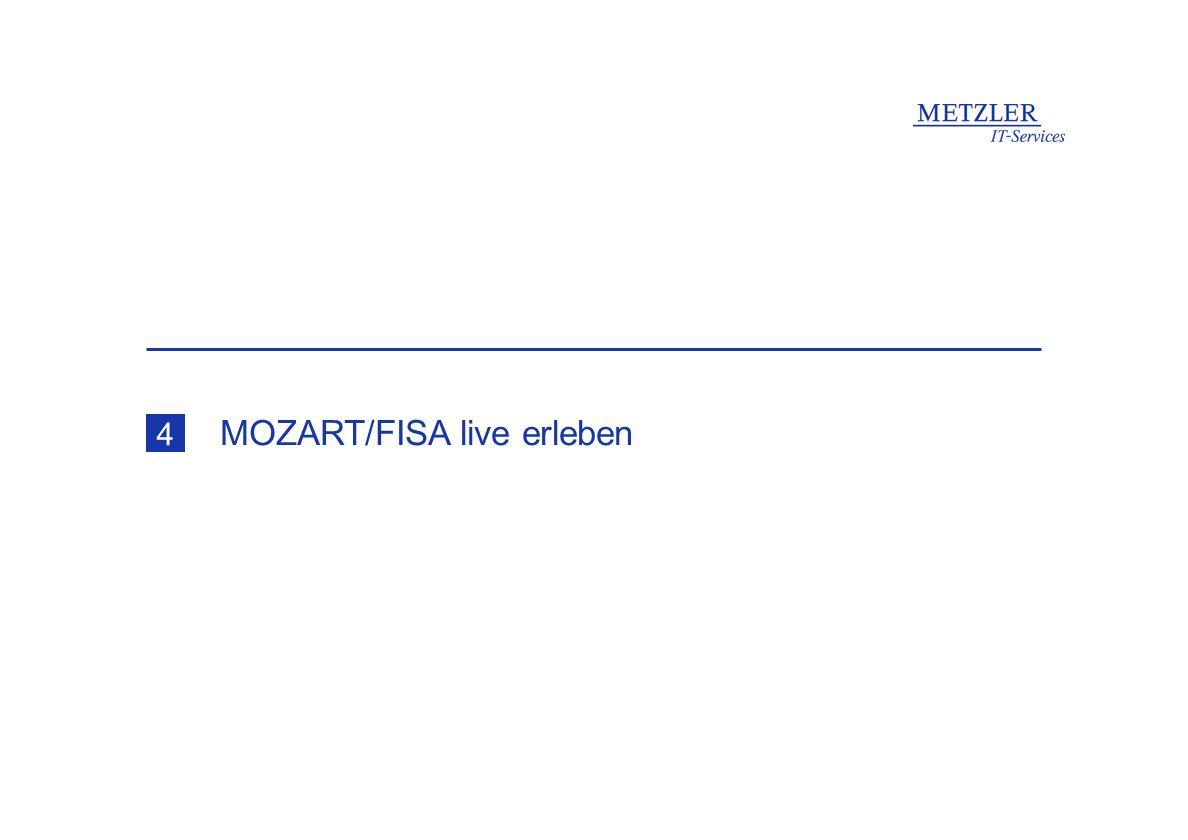 MOZART/FISA live erleben