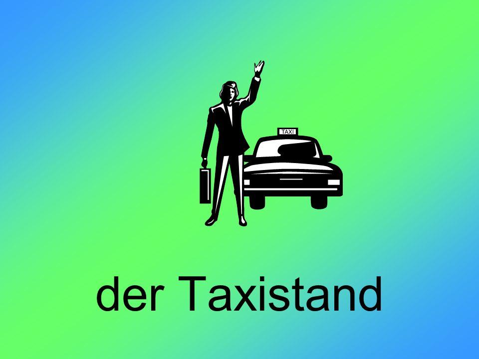 der Taxistand