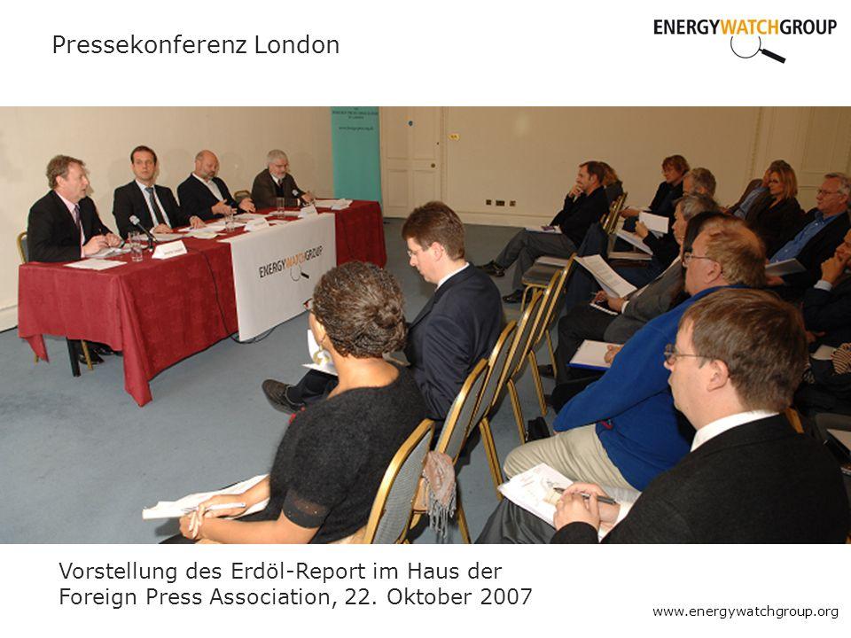 Pressekonferenz London