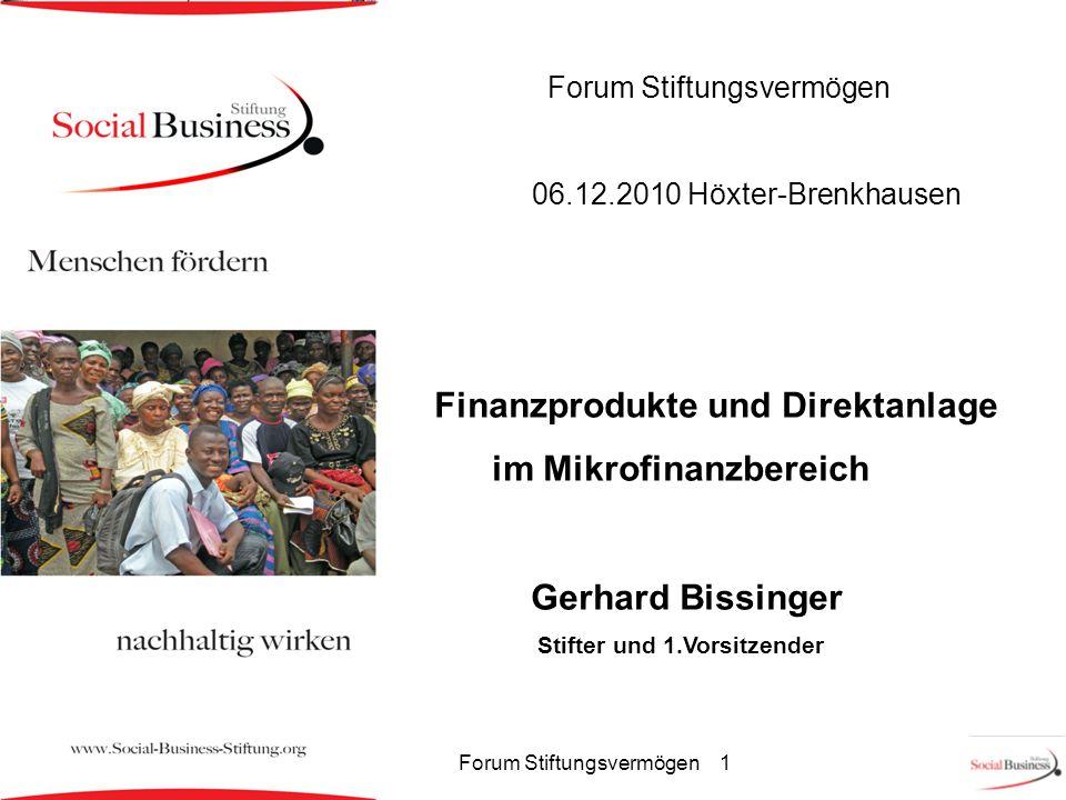 Forum Stiftungsvermögen 1