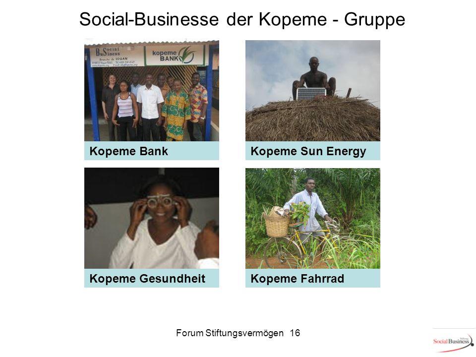 Social-Businesse der Kopeme - Gruppe