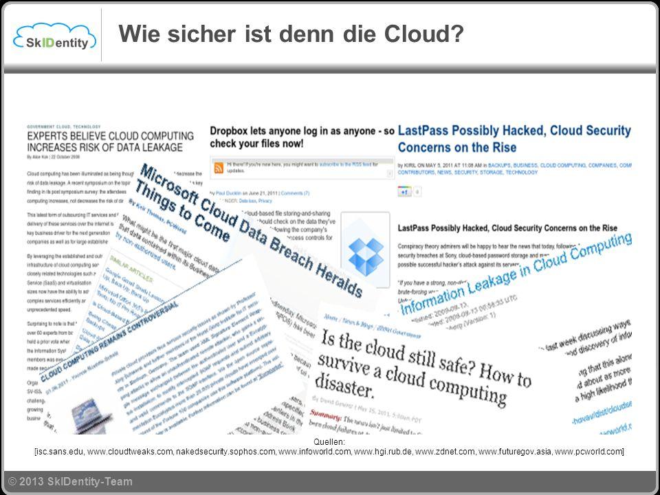 Wie sicher ist denn die Cloud