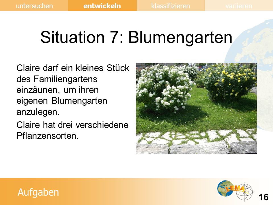 Situation 7: Blumengarten