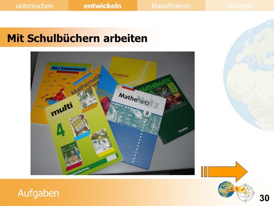 Mit Schulbüchern arbeiten