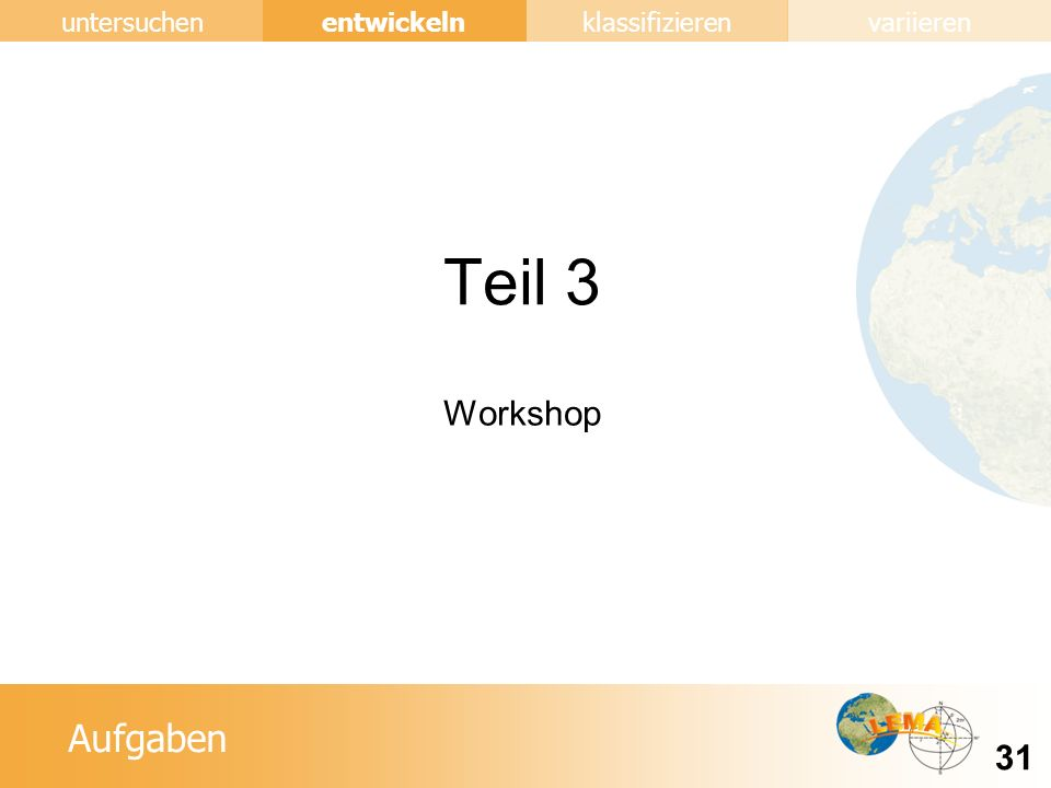 Teil 3 Workshop