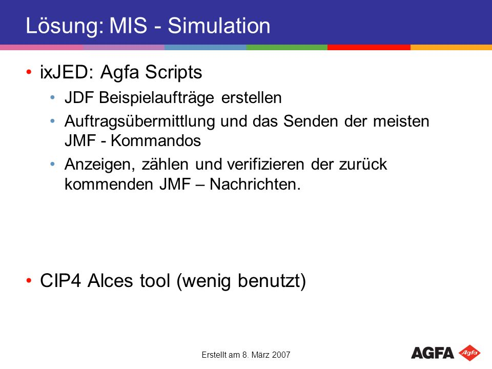 Lösung: MIS - Simulation