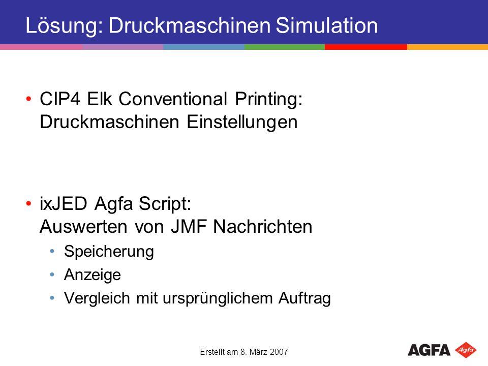 Lösung: Druckmaschinen Simulation