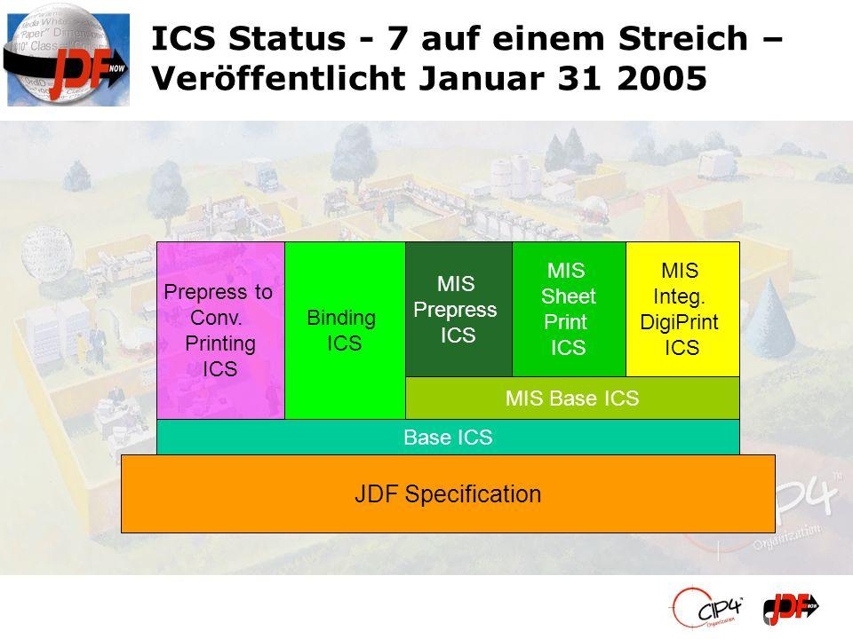 ICS Status - 7 auf einem Streich – Veröffentlicht Januar 31 2005