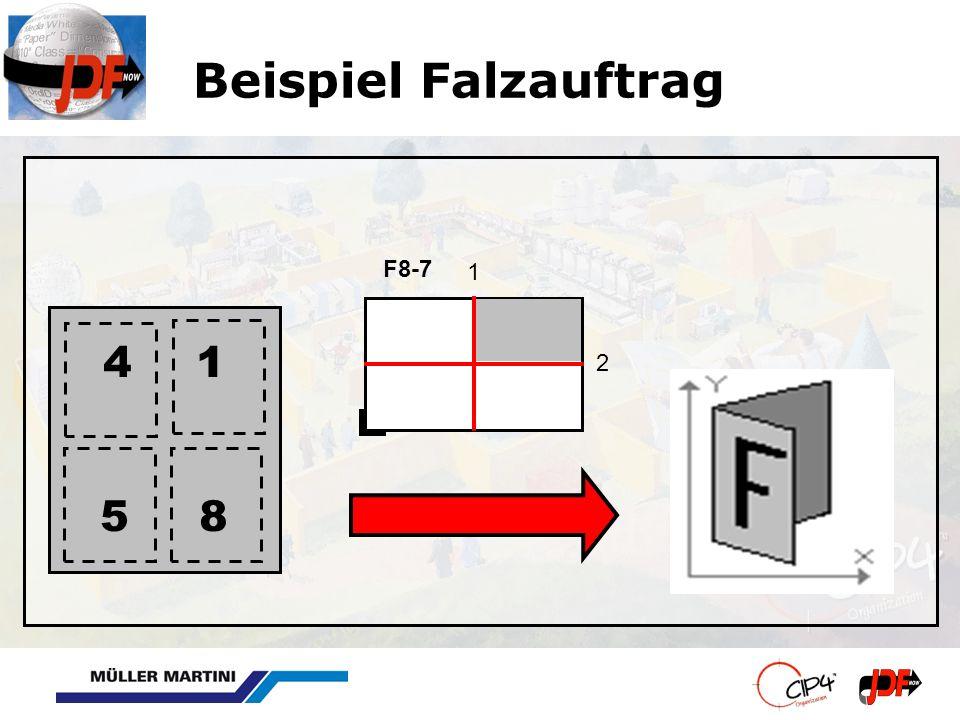 Beispiel Falzauftrag 1 2 F8-7 1 5 8