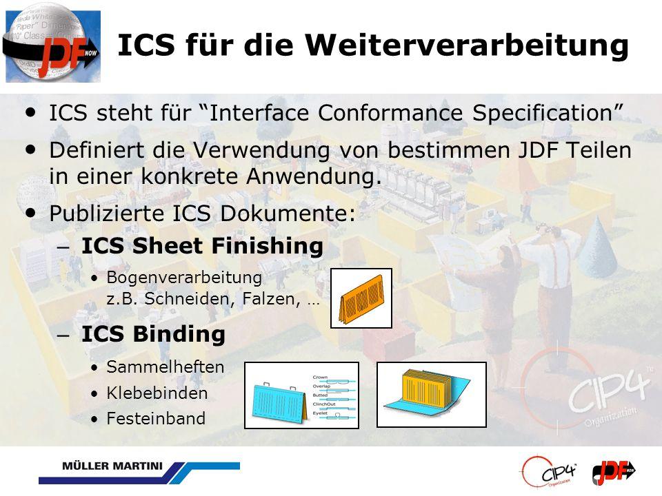 ICS für die Weiterverarbeitung