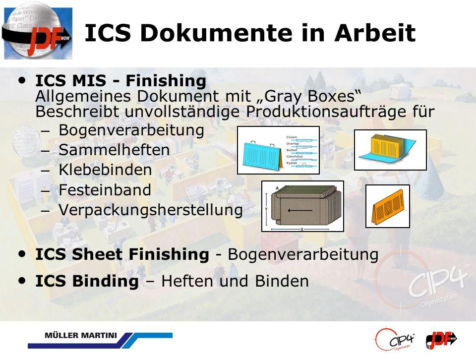 ICS Dokumente in Arbeit