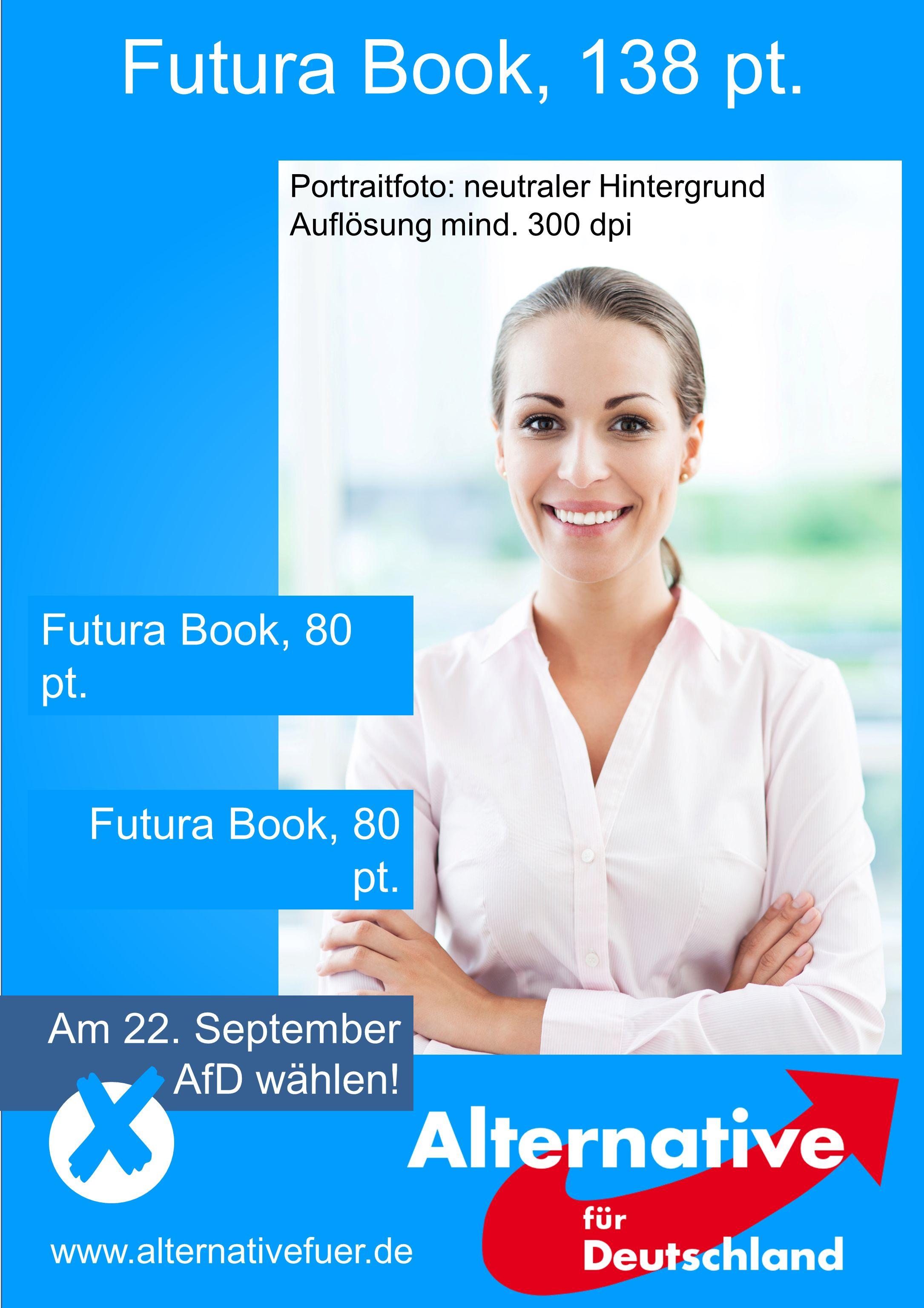 Futura Book, 138 pt. Futura Book, 80 pt. Futura Book, 80 pt.