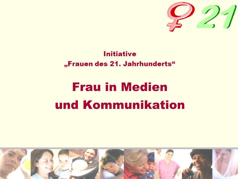 """Initiative """"Frauen des 21"""