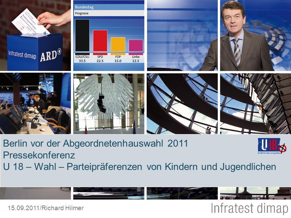 Berlin vor der Abgeordnetenhauswahl 2011 Pressekonferenz