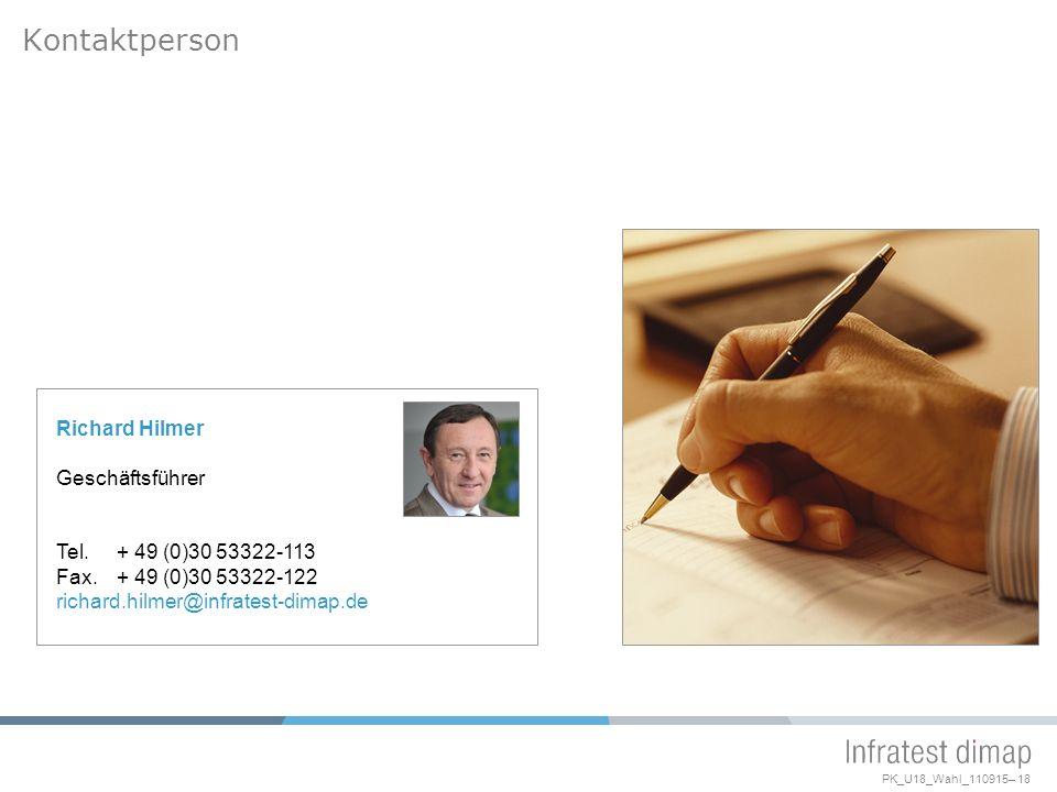 Kontaktperson Richard Hilmer Geschäftsführer Tel. + 49 (0)30 53322-113