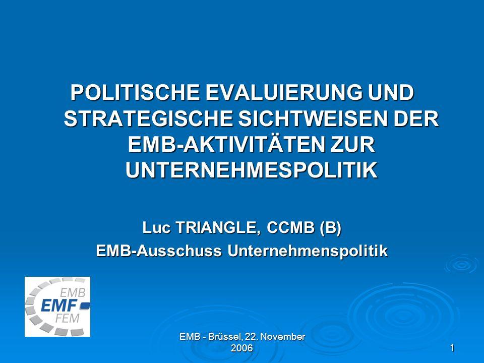 EMB-Ausschuss Unternehmenspolitik