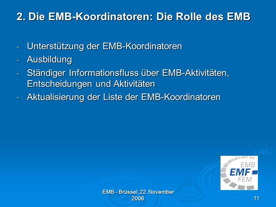 2. Die EMB-Koordinatoren: Die Rolle des EMB