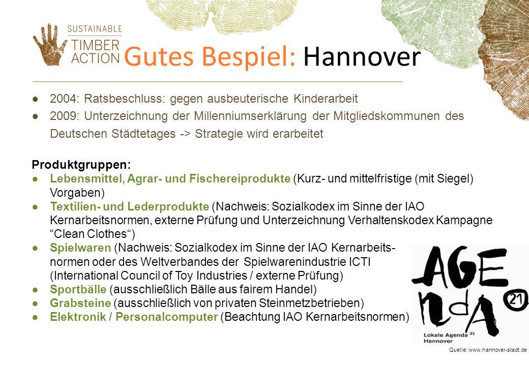 Gutes Bespiel: Hannover