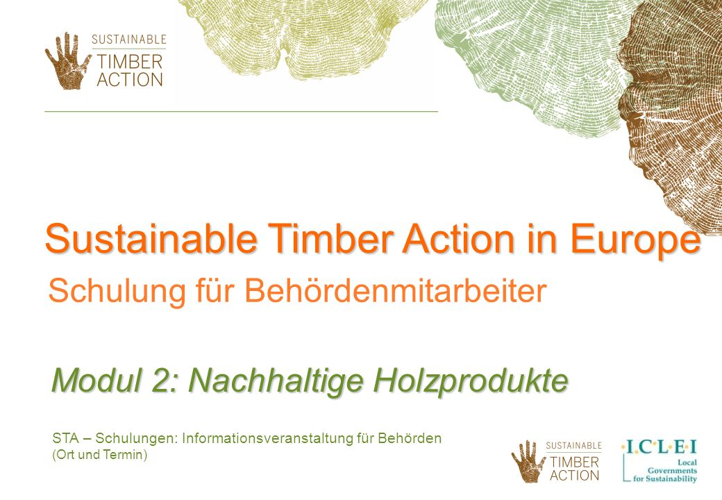 Sustainable Timber Action in Europe