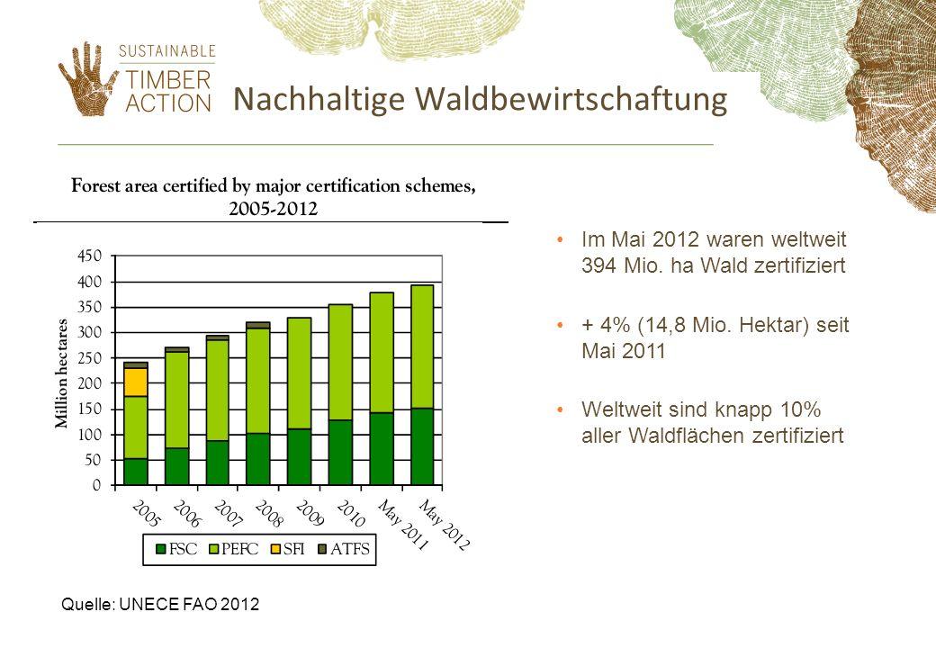 Nachhaltige Waldbewirtschaftung
