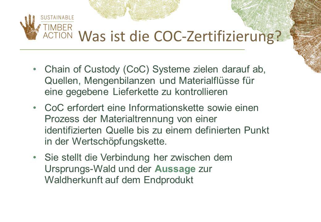 Was ist die COC-Zertifizierung