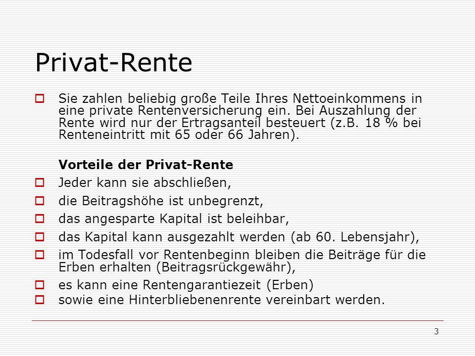 Privat-Rente