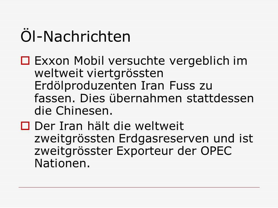 Öl-Nachrichten