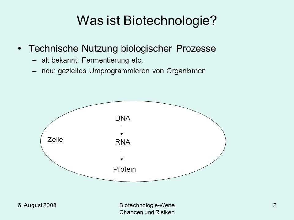 Was ist Biotechnologie