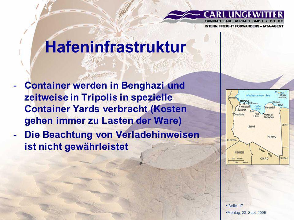 27.03.2017 Hafeninfrastruktur.