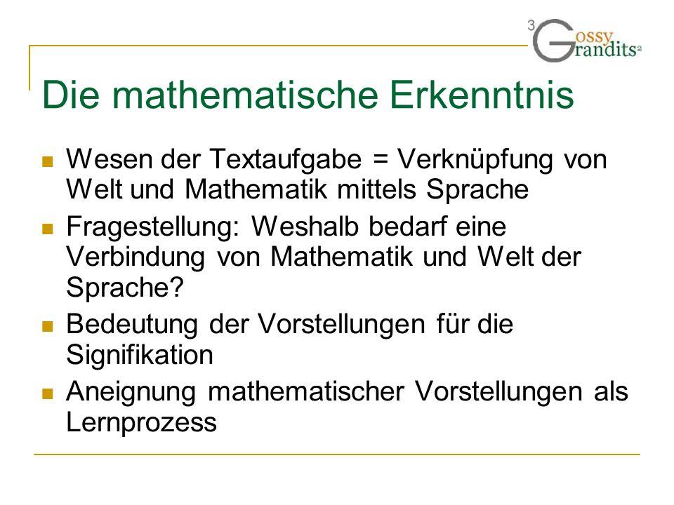 Die mathematische Erkenntnis