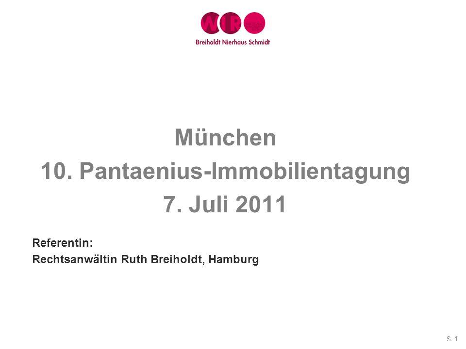 10. Pantaenius-Immobilientagung